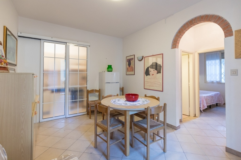 Ground floor apartment with two double bedrooms near the center and near the sea for rent in Lido degli Estensi - 20ALE