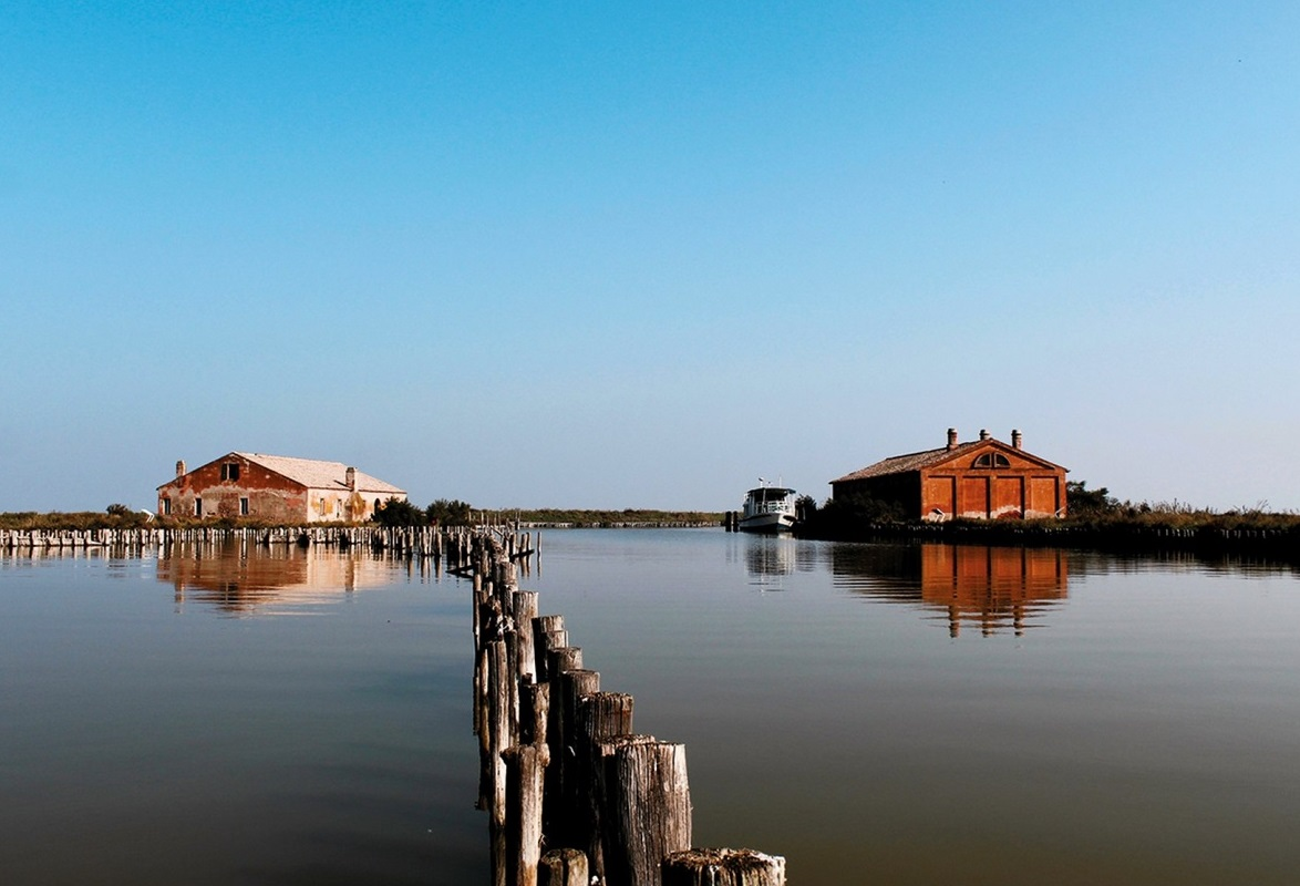 By boat in the Comacchio Valleys